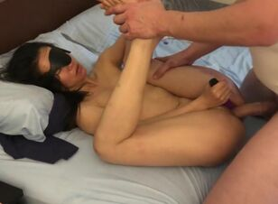 Asian wife first big cock