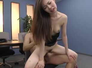 Asian screaming orgasm