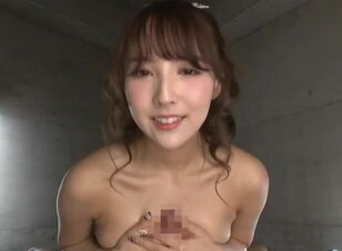 Asian babe blowjob