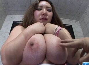 Busty asian pov