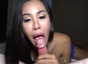Asian shemale gangbang
