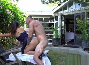 Asian outdoor porn