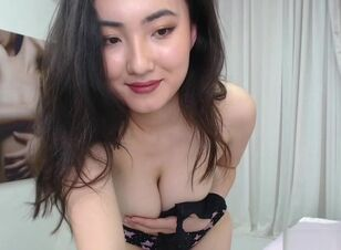 Petite busty asian