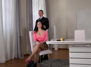 Asian secretary fuck