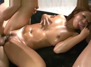 Asian big tits cum