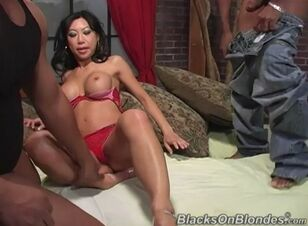 Asian and black anal