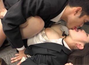 Hot japanese blowjob